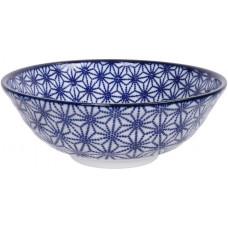 Nippon Blue Soba Bowl 21x7.8cm 1.1l Star