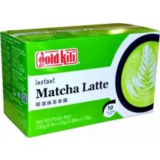 gold kili Matcha latte ins. 10p 250g