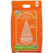 Royal Umbrella Long Grain Rice 10Kg (Fragrant Rice)