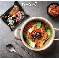 SamYang Ramen épicé saveur poulet 140g 1 sachet Halal
