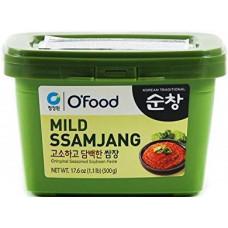 CJW Mild pâte de soja coréen 500g