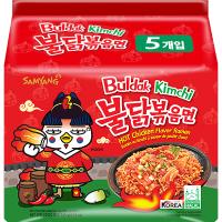SY Nouilles ins. épicé sav. kimchi SAMYANG Buldak 140g*5