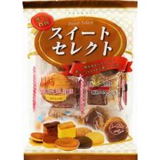 TenKei Petits Gâteaux Japonais 8 Sortes 198g