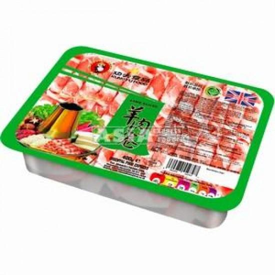 viande d'agneau en tranche pour fondue 410g