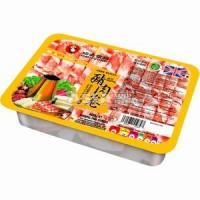 viande de porc en tranche pour fondue 400g