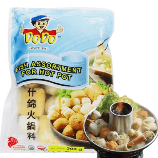 assortiment boulettes de poissons pour Hot Pot 300g
