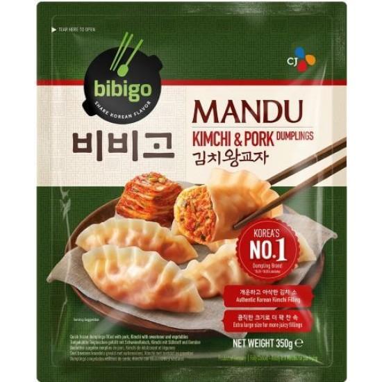 bibigo gyoza kimchi porc 525g