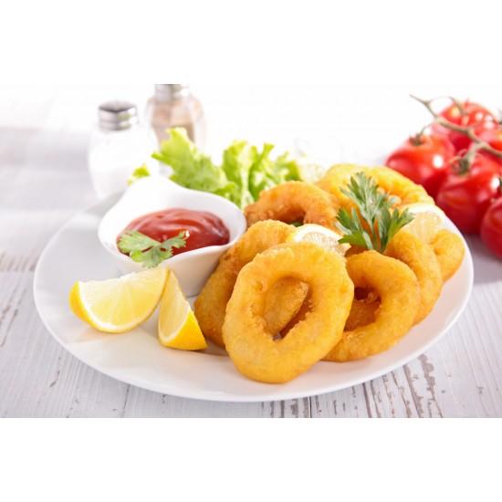 beignets de calamar surgelés 1kg