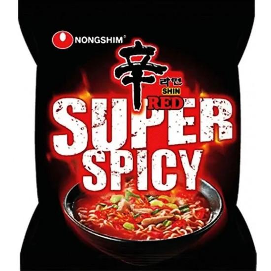 Nouille Instantanée Shin Red Super épicé 120g