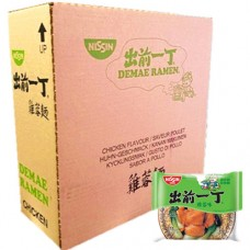 Nissin nouilles ins. sav. poulet un carton 110g*30p