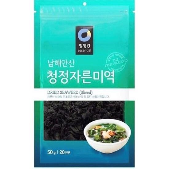 algue séché en tranches coréen chung jung one 50g