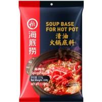 sauce pour hotpot huile claire épicé HDL 220g