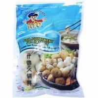 assortiment boulette de fruit de mer pour Hot Pot 300g