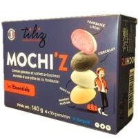Mochi glacé les Essentiels 4 goûts mélangés 140g 4p