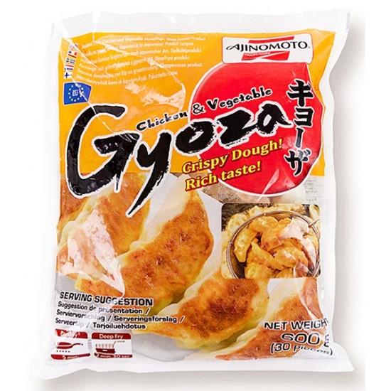 gyoza poulet ciboulette 600g 30p