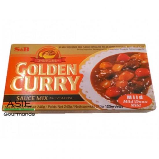 S&B Golden Curry en cube japonais douce 240g