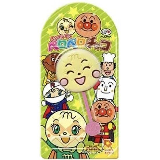 Fujiya Japonais Anpanman Sucette au Chocolat 1 pièce-12g -Modèle Aléatoire