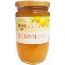 confiture de thé citron(yuzu) 480g