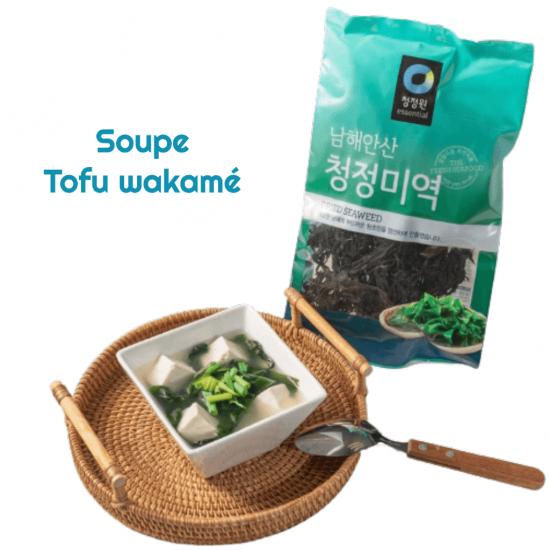 algue séché en tranches coréen chung jung one 20g