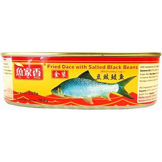 YJX poisson frit au soja noir fermenté 227g