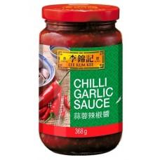 LKK sauce piment à l'ail 368g
