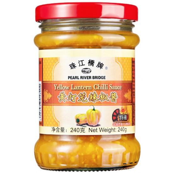 PRB sauce piment lanterne jaune 240g