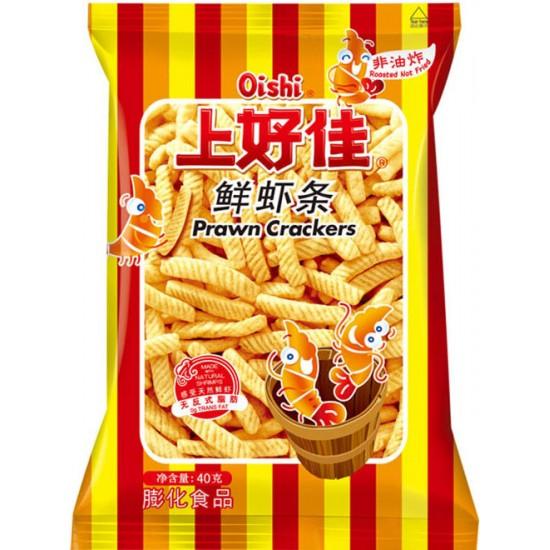 SHJ chips aux crevettes en stick  40g