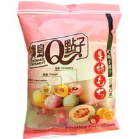 assortiment de mochi aux fruits 120g