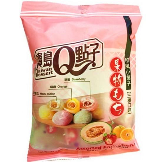 assortiment de mochi aux fruits 120g