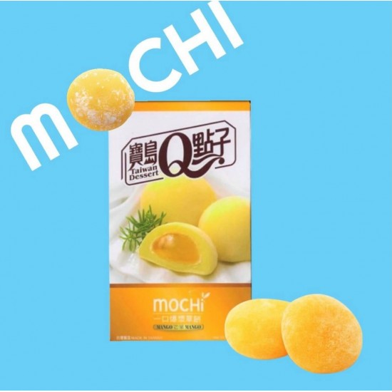 BDQ mochi cake saveur mangue 104g