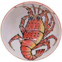 Seafood Bol 16x8.5cm 800ml Ebi Red
