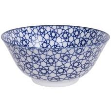 Nippon Blue Tayo Bol 15.2x6.7cm 500ml Stripe