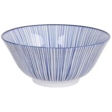 Nippon Blue Tayo Bol 15.2x6.7cm 500ml Lines