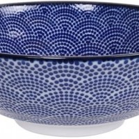 Nippon Blue Soba Bowl 21x7.8cm 1000ml
