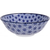 Nippon Blue Soba Bowl 21x7.8cm 1.1l Star