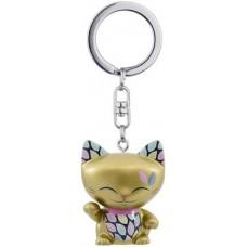 Mani 招财猫钥匙链 金色 4cm