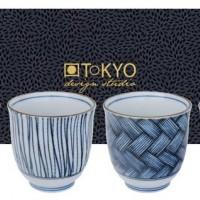 tasse à thé Giftset 4pcs Bleu 8x7.9cm